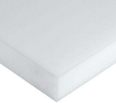 58 Delrin Block Natural Acetal Sheet 9x12 Cnc Millstock Plastic 6332