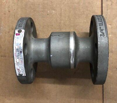 34 Durabla Check Valve 26135 Stainless Steel