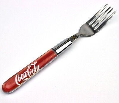 Coca-Cola Coke USA Griff mit Logo Design Besteck - Gabel