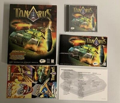 TANARUS PC Game BIG BOX - Sony 1997, Tank Warfare ()