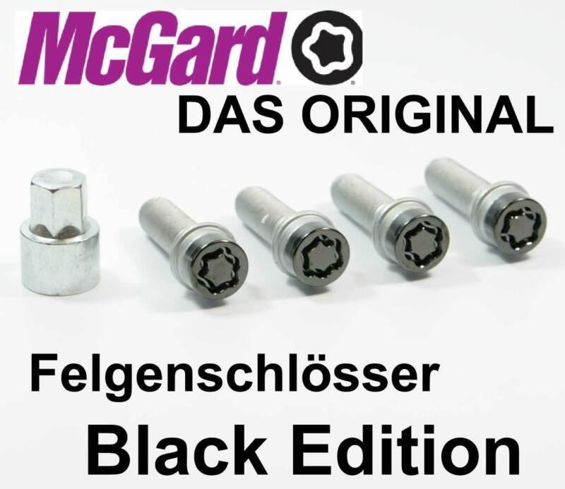 McGard Felgenschlösser Radsicherungen Schwarz M14x1,5x29,0mm Kegelbund фото
