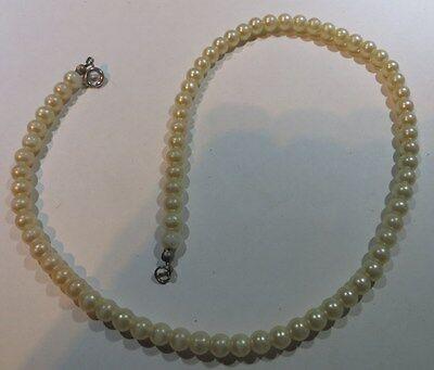 Collier de perles  ras du cou 7