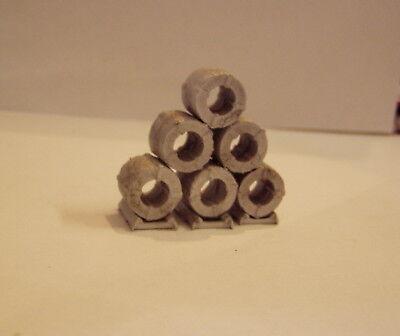 castings require painting 3 P/&D Marsh N Gauge N Scale C59 Rolled hay bales