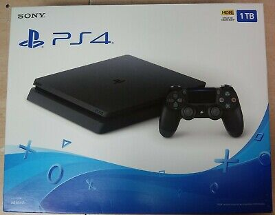 Sony Playstation 4 PS4 Slim 1TB Black Video Game Console CUH-2215B