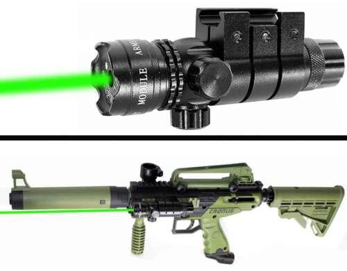 Tippmann cronus green sight aluminum paintballing woodsball tactical upgrades