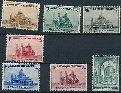 [1856] Belgium 1938 good Set very fine MH Stamps