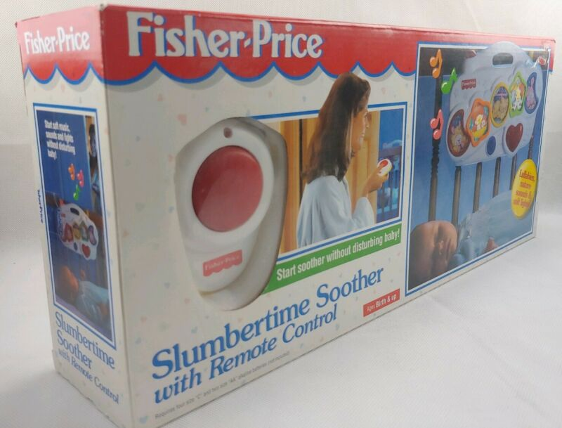 Fisher Price Slumbertime Soother with Remote Infant Musical Lullabies NOS 1998