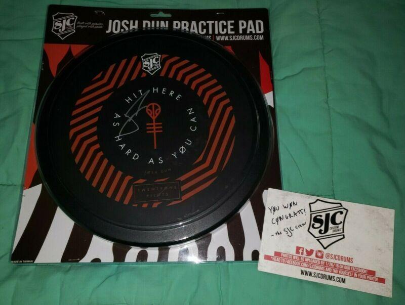 Josh Dun Twenty One Pilots SIGNED Drum Pad! EXTREMELY RARE!