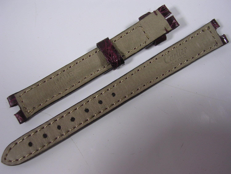 Bracelet cuir cartier pour montre 11,5 mm stock ancien