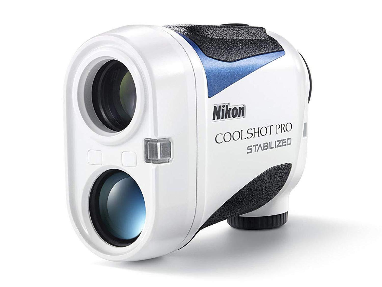 coolshot pro stabilized golf laser rangefinder open