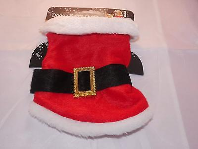Pet Santa Outfit Small Dog Christmas Coat, Suit Cat Rabbit 7.5