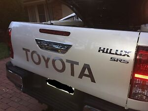 2016 Toyota Hilux SR5 brand new parts Ryde Ryde Area Preview