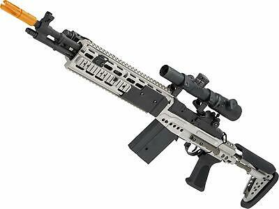 CYMA Full Metal M14 EBR Designated Marksman Rifle Airsoft AEG - Multiple Options for sale  Denver
