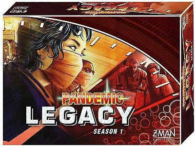 Pandemic Legacy RED, Board Game Brand New By Z-Man Games