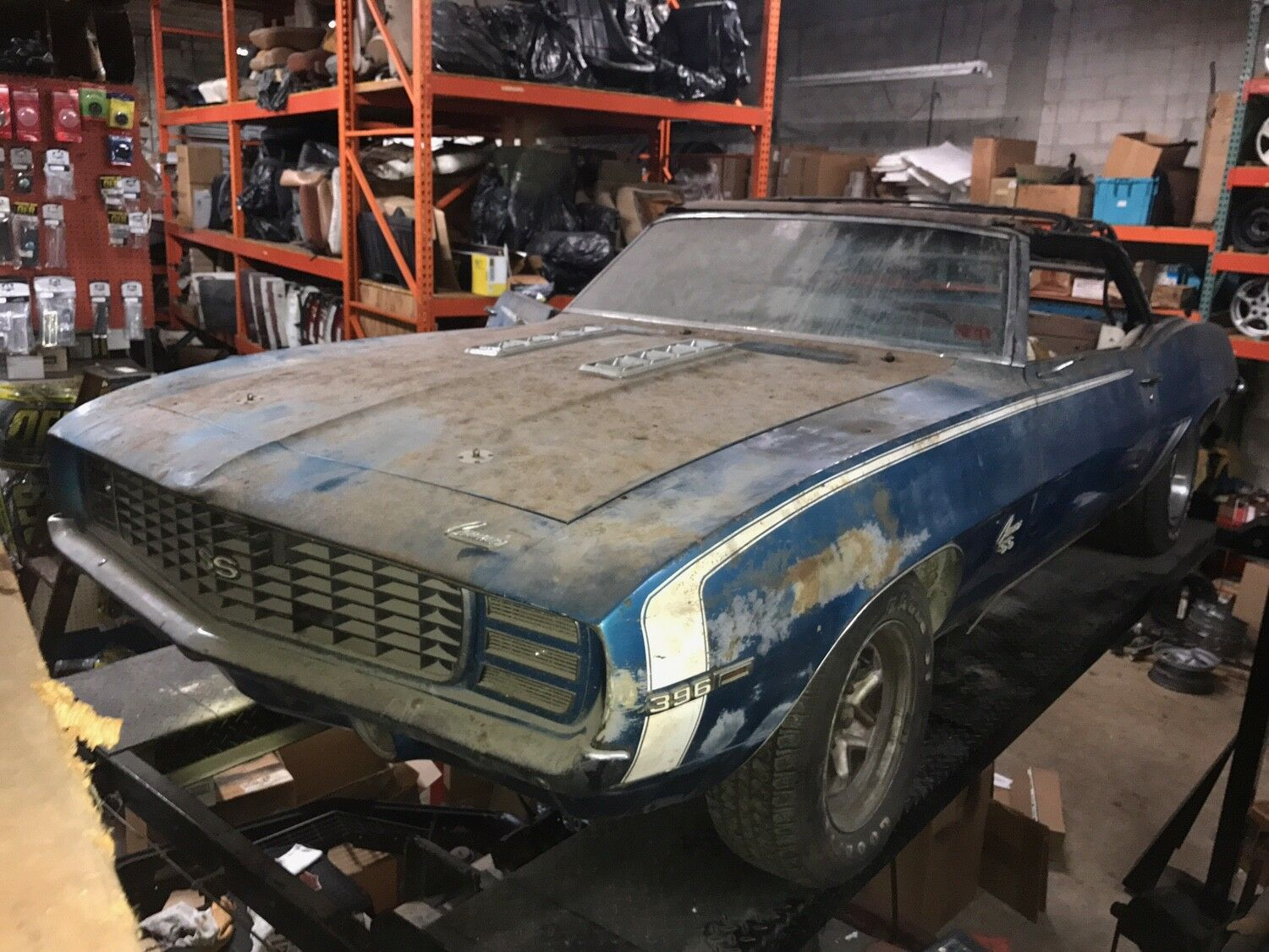 1969 camaro ss 396 convertible 4 speed w rs option project car used chevrolet camaro for sale. Black Bedroom Furniture Sets. Home Design Ideas