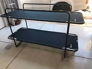 Oztrail Double Bunk Camping Beds/Stretchers North Perth Vincent Area Preview