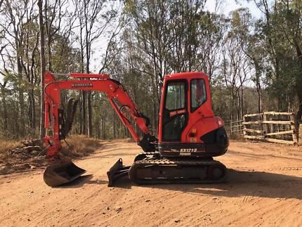 Excavator Kubota KX121-3 Super Series