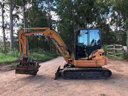 Excavator Case CX55BX