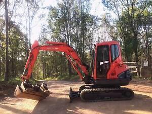 Excavator Kubota KX121-3 Gympie Gympie Area Preview