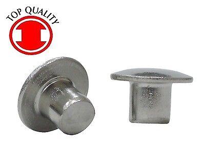 Stainless Steel Truss Head Solid Rivets - 316x14 Thsr316140 - 100pcs