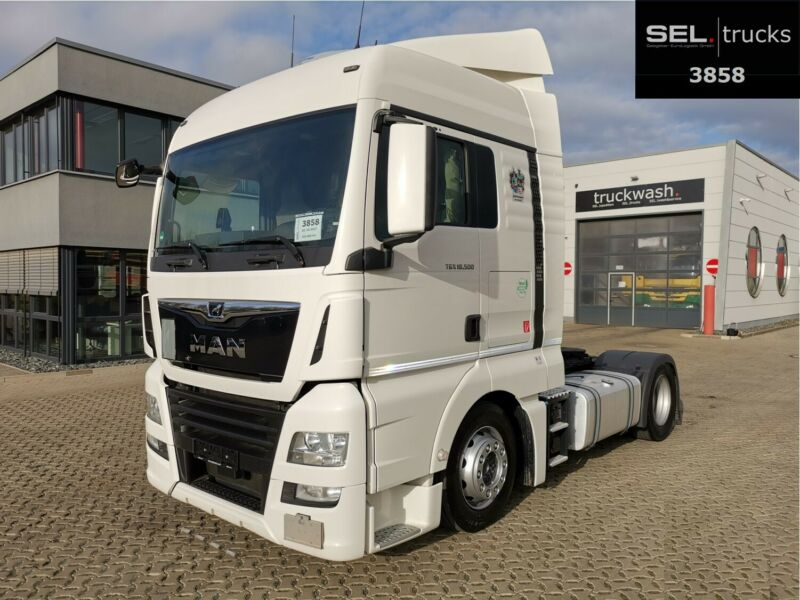 MAN TGX 18.500 / ZF Int. / Standklima / German