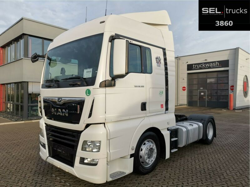 MAN TGX 18.500 / ZF Int. / Standkl. / German