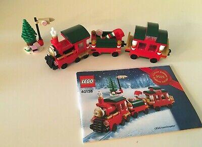LEGO 40138 Christmas Train Set 2015 w/ manual, no box.