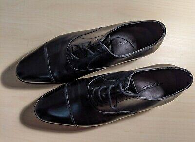 John Lobb City II Black Oxford Men's Formal Shoes - Brand New with Box