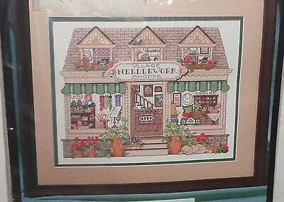 Bucilla Counted Cross Stitch Kit Village Needlework Shoppe New