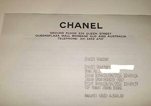 Chanel Credit Voucher valued $4540 Brisbane City Brisbane North West Preview
