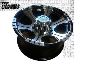 16x8-mag-wheels-4x4-Alloy-Wheels-to-suit-Mitsubishi-Pajero-82-alloys-rims