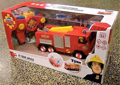 RC Turbo Jupiter - Feuerwehrmann Sam, funkferngesteuertes Feuerwehrauto, 22 cm