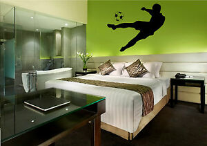Football-player-Vinyl-Wall-Art-Giant-wall-sticker-transfer-picture-decal-graphic