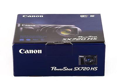 Brand New  Canon Powershot Sx720 Hs 20 3 Megapixel Digital Camera   Black