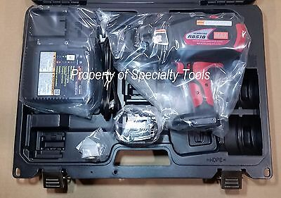 Max Usa Rb518 Cordless Rebar Tier 14.4v Battery Operated Re Bar Tying Tool