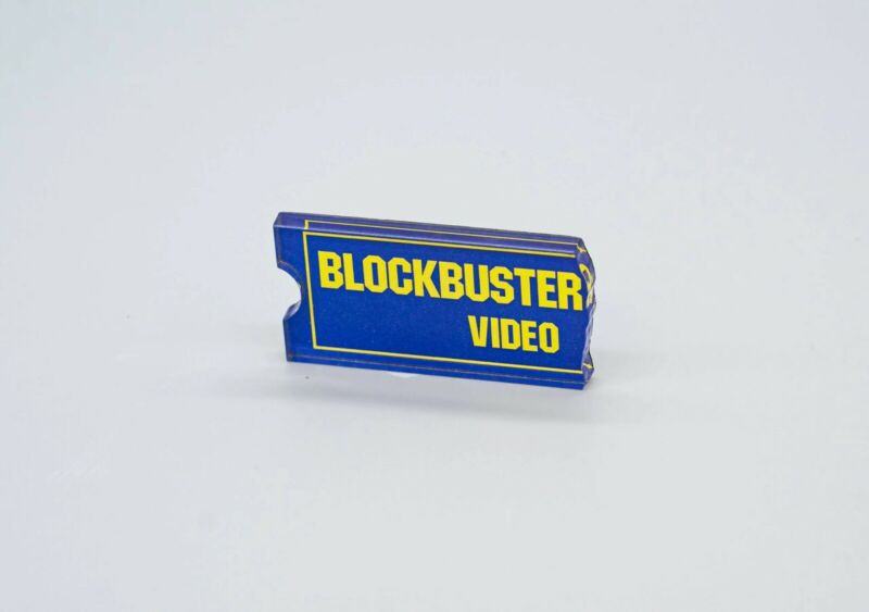 Blockbuster Ticket Magnet - 100% Acrylic