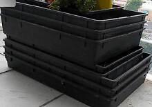 10 LARGE Plastic Garden Trays to secure Orchid plants RRP$80 Port Melbourne Port Phillip Preview