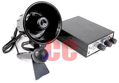 12v PA Multi Function Siren Horn Novelty Animal Sounds Loud Speaker System Gift ()