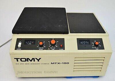 Tomy Mtx-150 Refrigerated Laboratory 15k Rpm Micro Centrifuge W Rotor