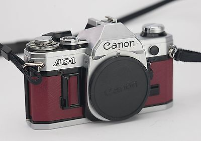 Canon AE-1 Replacement Cover - Recycled Leather