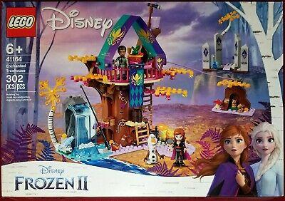 Lego Disney Frozen II Enchanted Treehouse Building Toy Set 302pcs 41164 New!