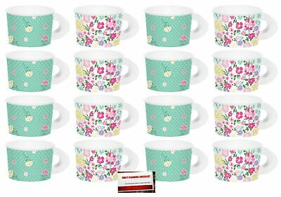 (16 Pack) Floral Tea Time Party Paper Cups with Handles (Plus Party Planning ... - Paper Tea Cups With Handles