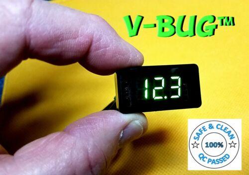 V-BUG -LED BDS Voltage Display Meter- Location Sound, Remote Audio, Battery Bud