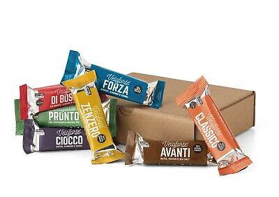 Veloforte Mixed Energy Bar Pack, Premium Box 7 of 100% Natural Energy Bars