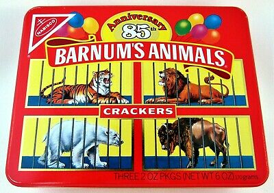 Barnum's Animals Crackers 85th Anniversary Tin 1987 Nabisco  for sale  Sun City