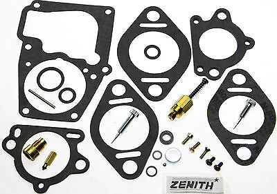 Carburetor Kit Fits Hyster Fork Lift Continental Engine F163 56749a 12026 Zc22