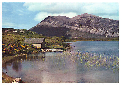 Ben Arkle from Loch Stack, Sutherland J Arthur Dixon Rare Picture Postcard