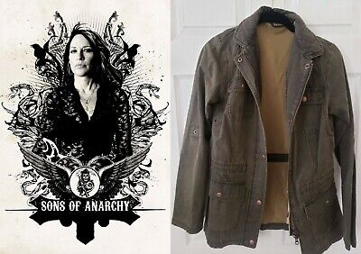 SOA Sons of Anarchy - Gemma's Barbour Jacket w/Studio COA