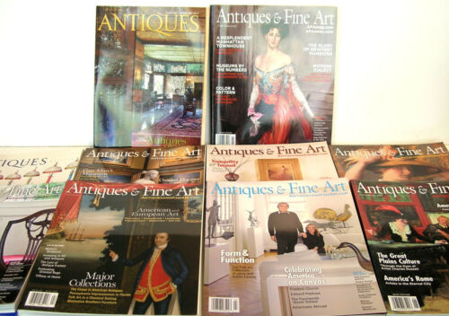 Antiques The Magazine 2005-2013 Ten Issues
