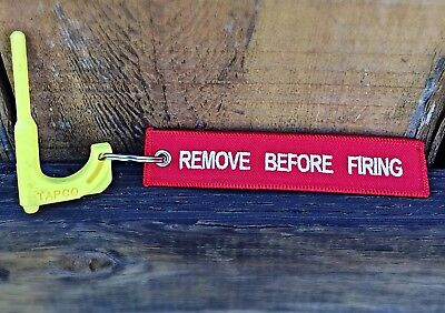 3-gun tool .223 5.56 7.62 .308 Chamber Safety Rifle Flag / Remove Before Firing